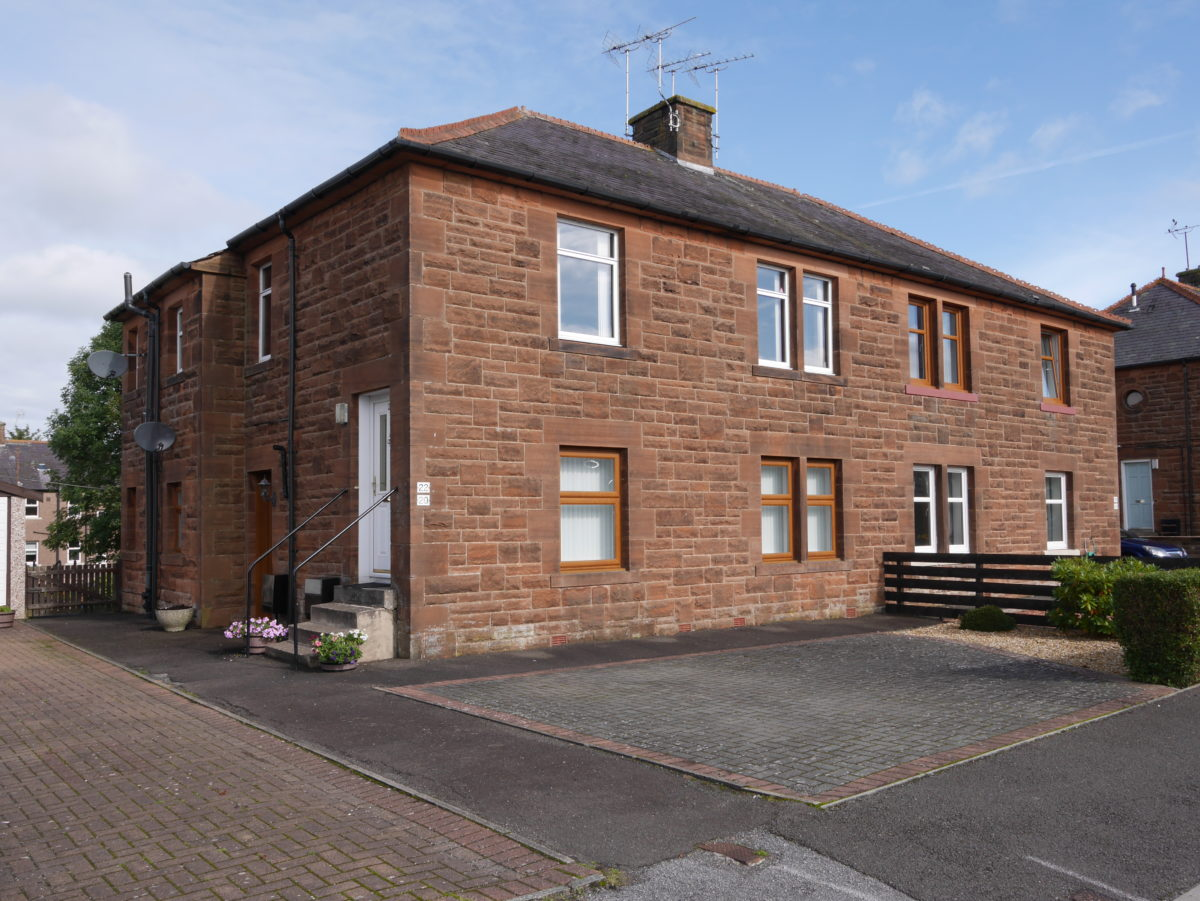 20 Rosevale Street, Dumfries, DG1 2EN - Braidwoods Solicitors & Estate Agents
