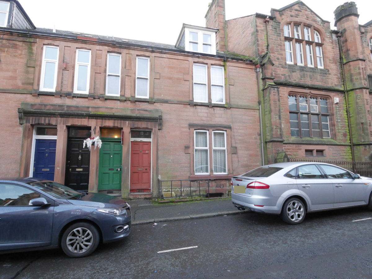36 Rae Street, Dumfries, DG1 1HX - Braidwoods Solicitors & Estate Agents